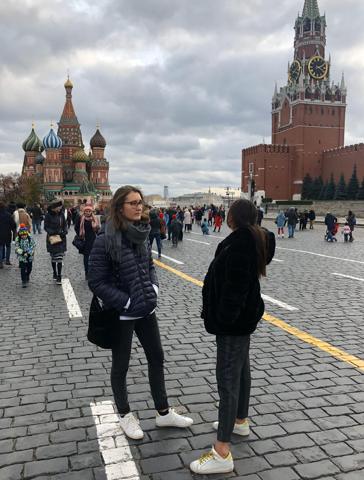 La Bisontine nous envoie ses bons baisers de Russie