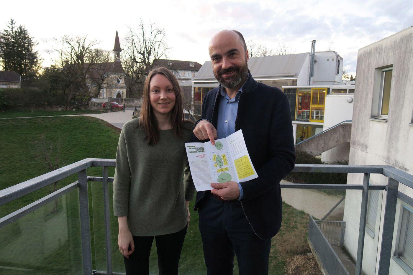 Cyrille Poy et Laura Morvan de la société LesCityZens, spécialisée dans la fabrique urbaine collaborative