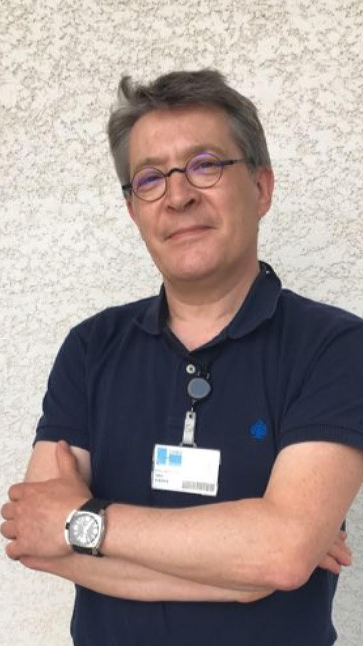 Le Pr Éric Delabrousse du service radiologie de l'hôpital de Besançon.
