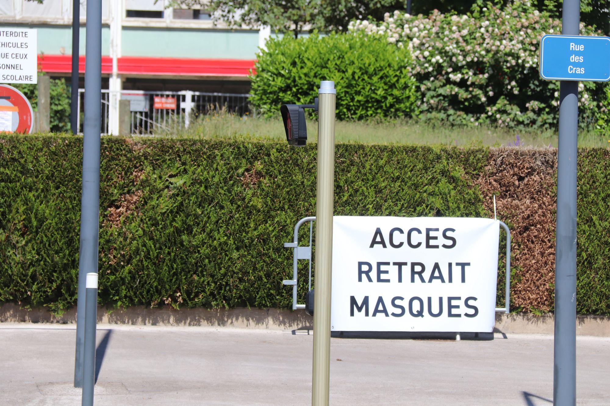 Besançon. Distribution de masques les 26, 27 et 28 mai