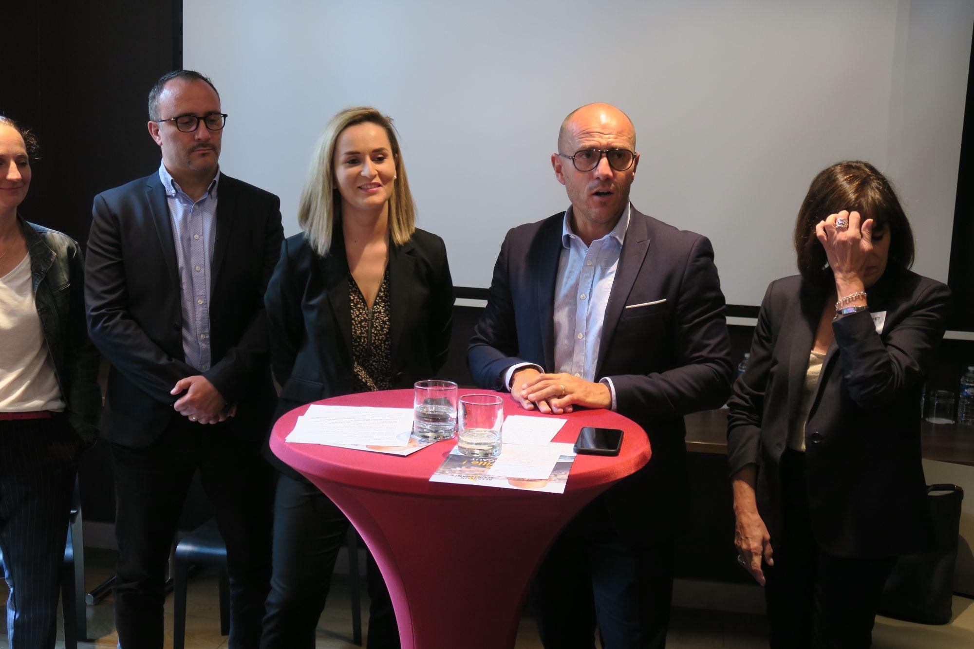 Convergence de vues entre Ludovic Fagaut et Alexandra Cordier