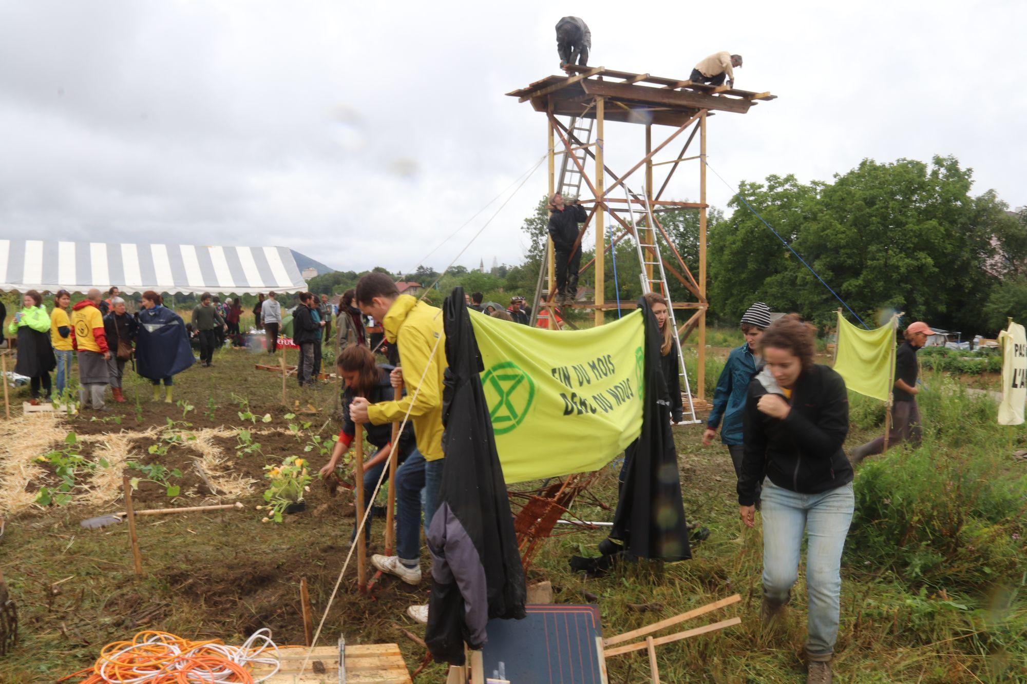 Besançon. Une action citoyenne menée aux Vaîtes... qui pourrait durer