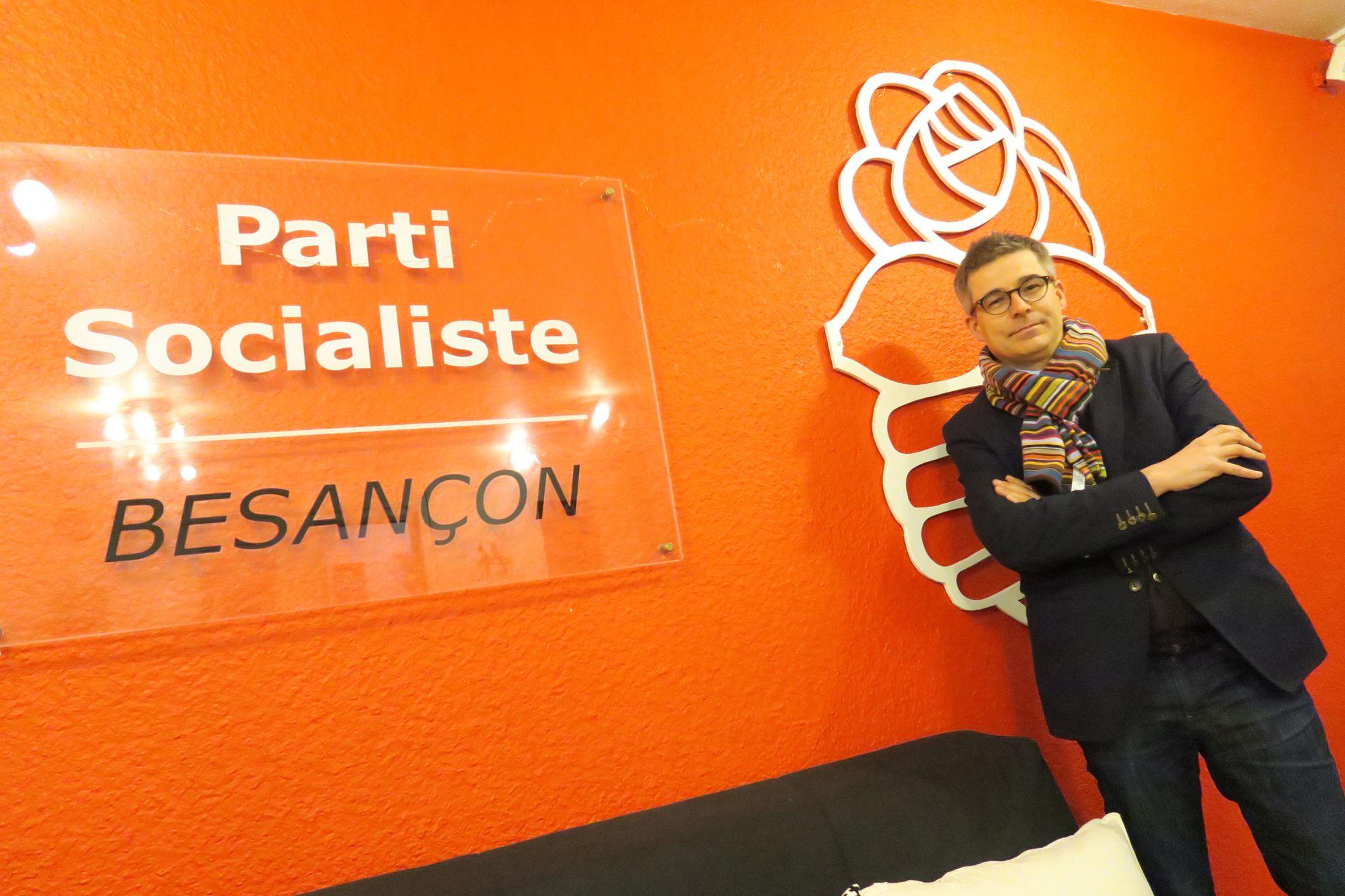 """Besançon. Nicolas Bodin (PS) sur le cumul des mandats : """"J'étais prêt à le faire bénévolement"""""""