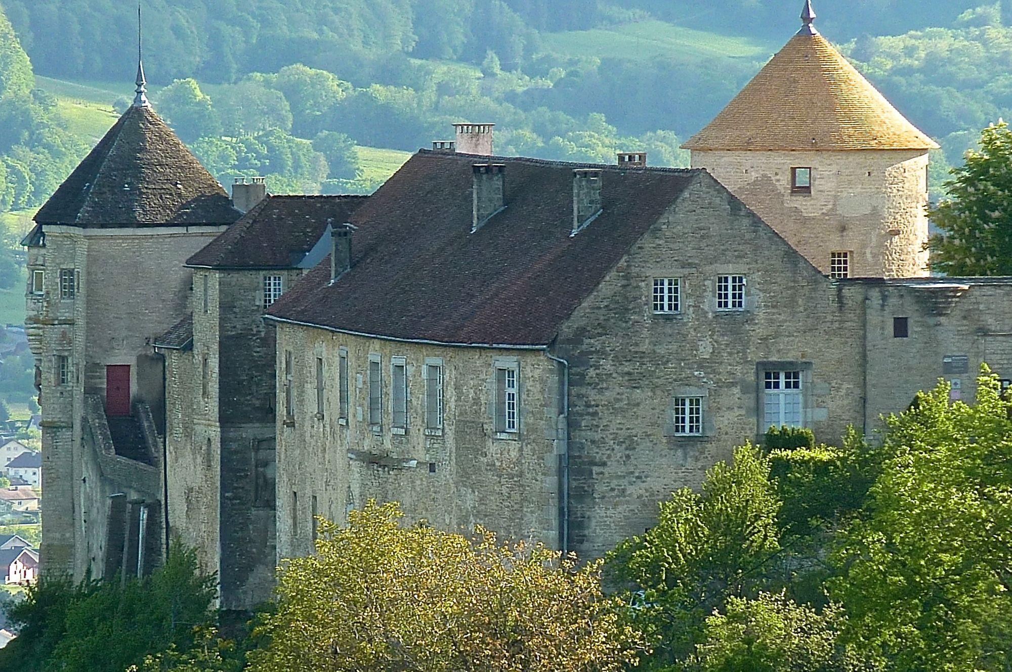 Château de Belvoir. La tour du donjon restaurée, les visiteurs attendus