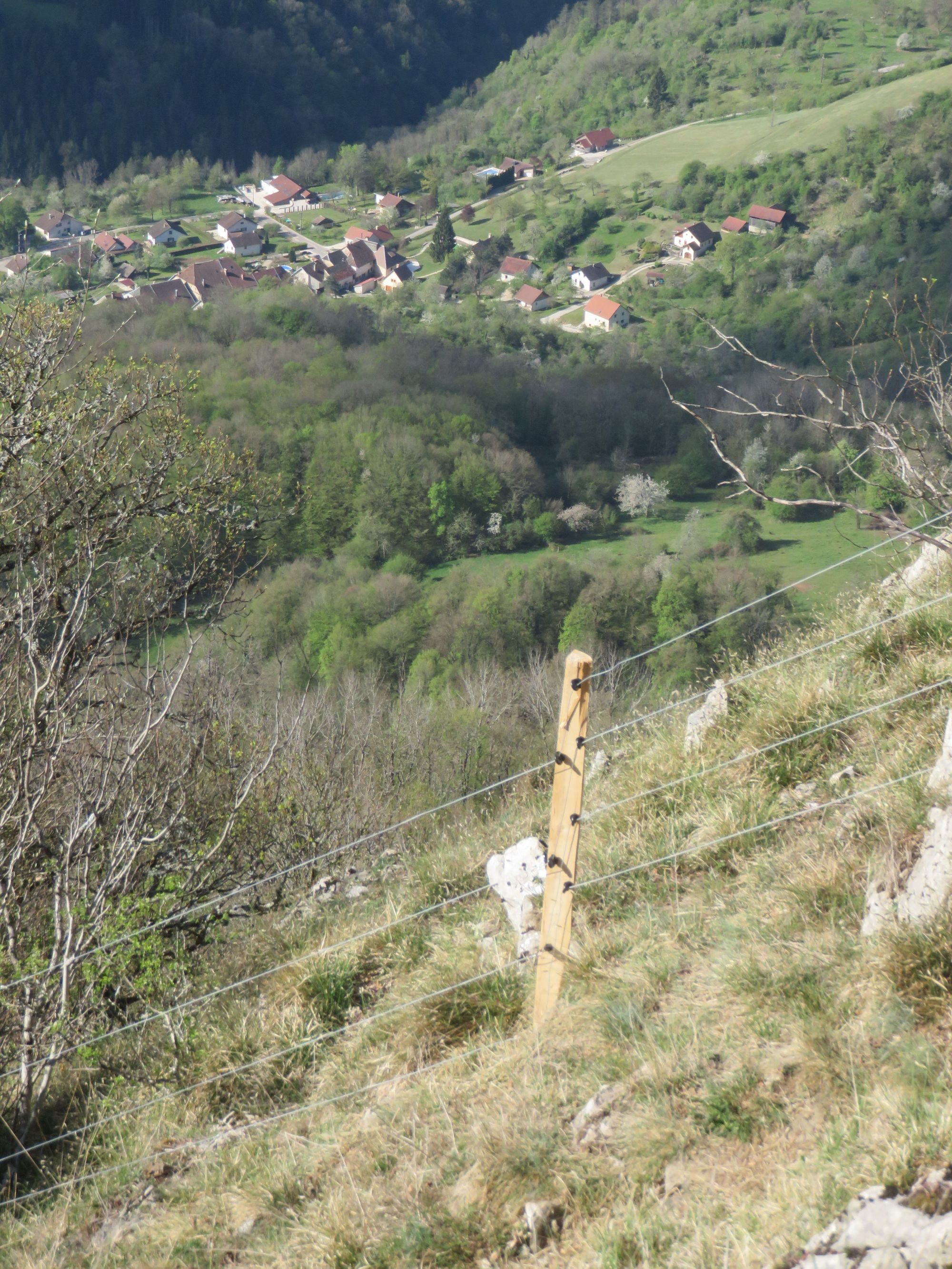 Hautepierre-le-Châtelet. Tourisme et biodiversité font bon ménage à la Roche de Hautepierre