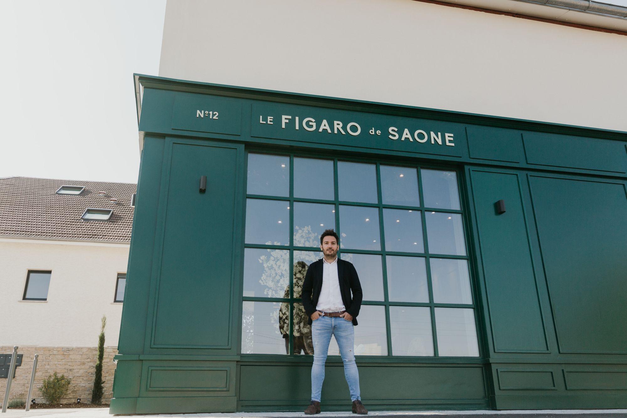 Commerce. Le Figaro de Saône a ouvert ses portes