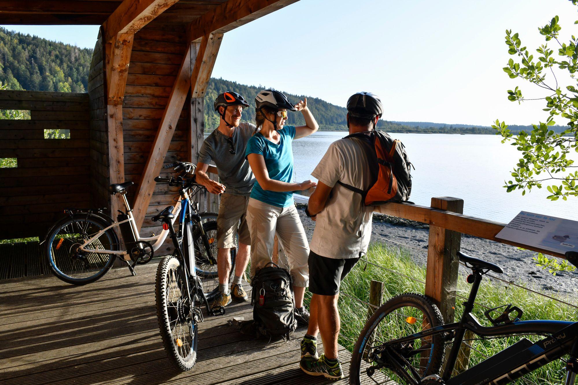 Frasne-Drugeon. La découverte de la vallée du Drugeon en vélo à assistance électrique