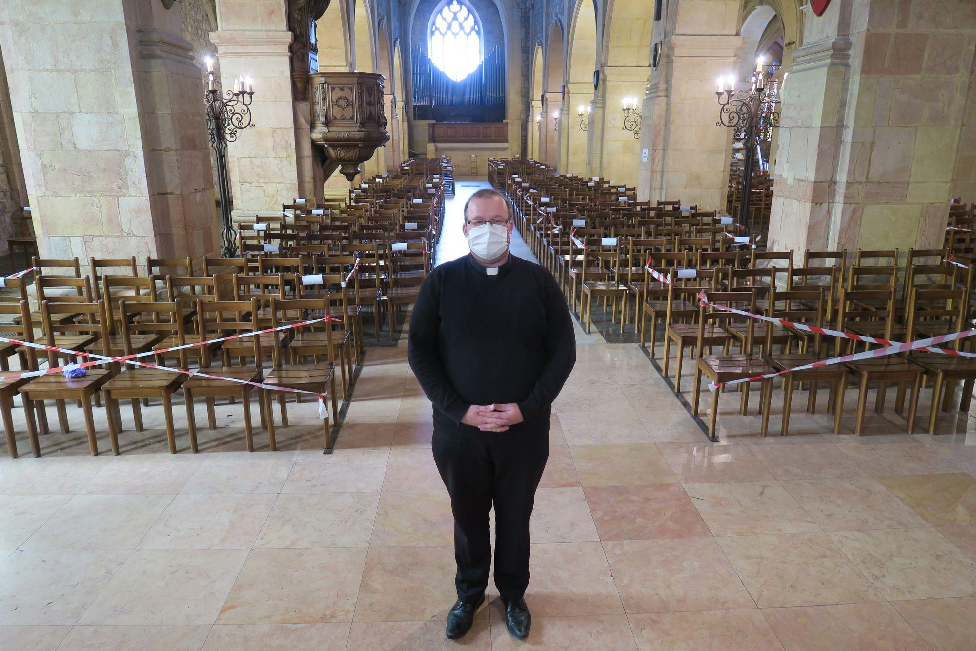 Morteau. Sylvain Herrgott, jeune prêtre déconfiné