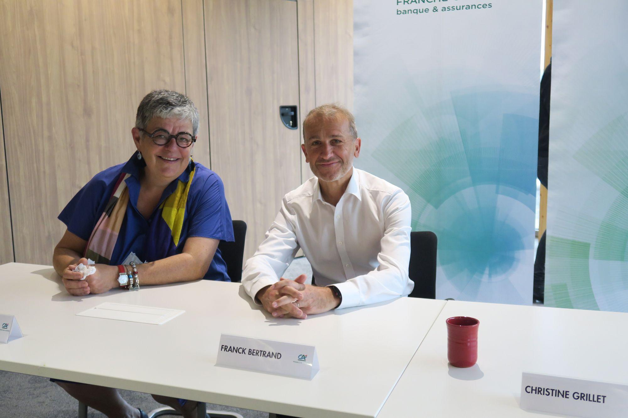 Un nouveau directeur général pour le Crédit Agricole Franche-Comté