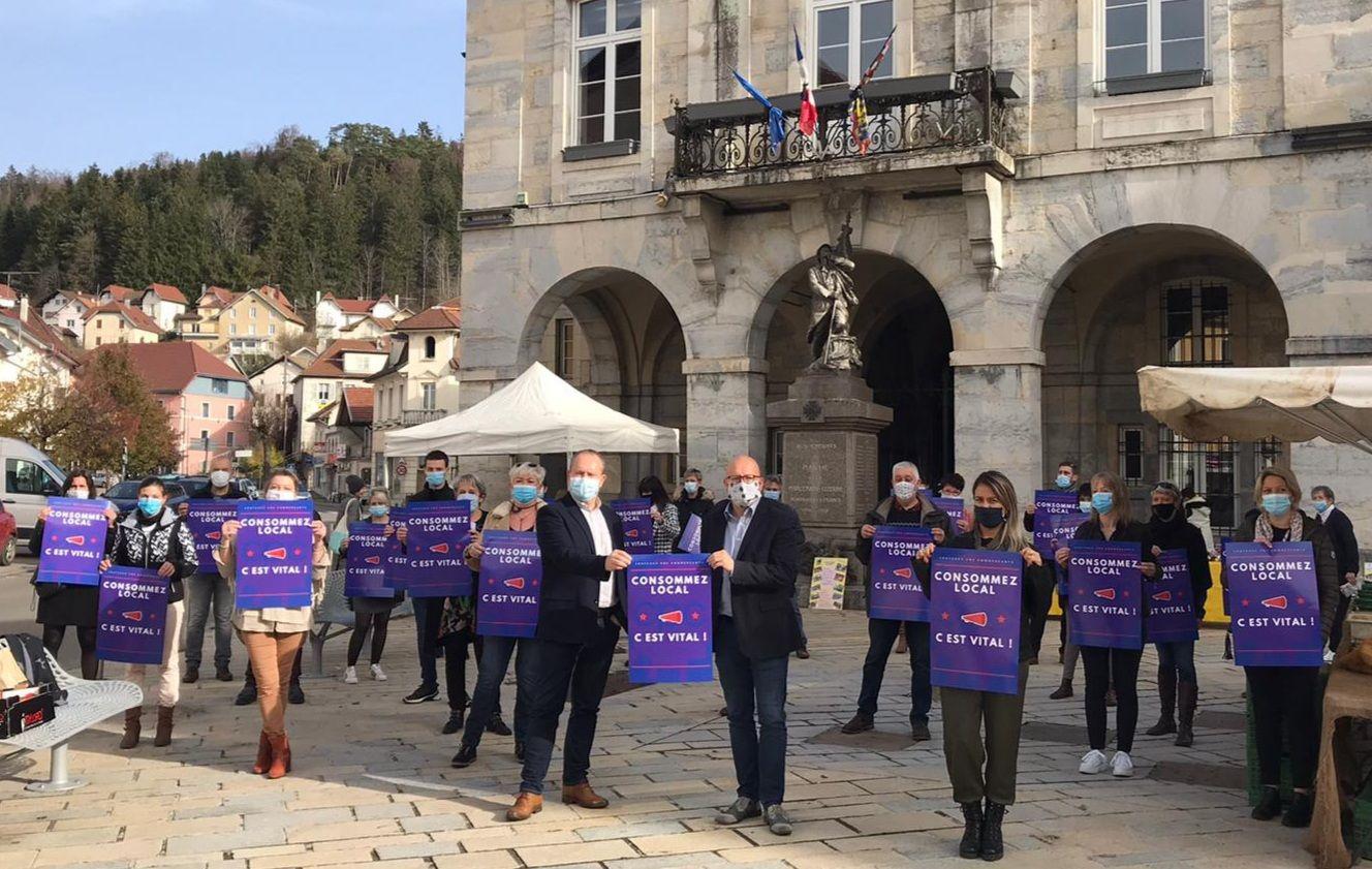 Maîche - Le conseil municipal débloque 20 000 euros pour ses commerces de proximité