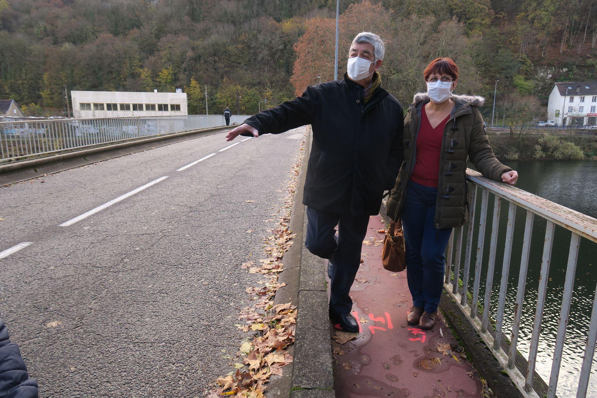 Besançon - Pont de Velotte : c'est parti pour 5 mois de travaux