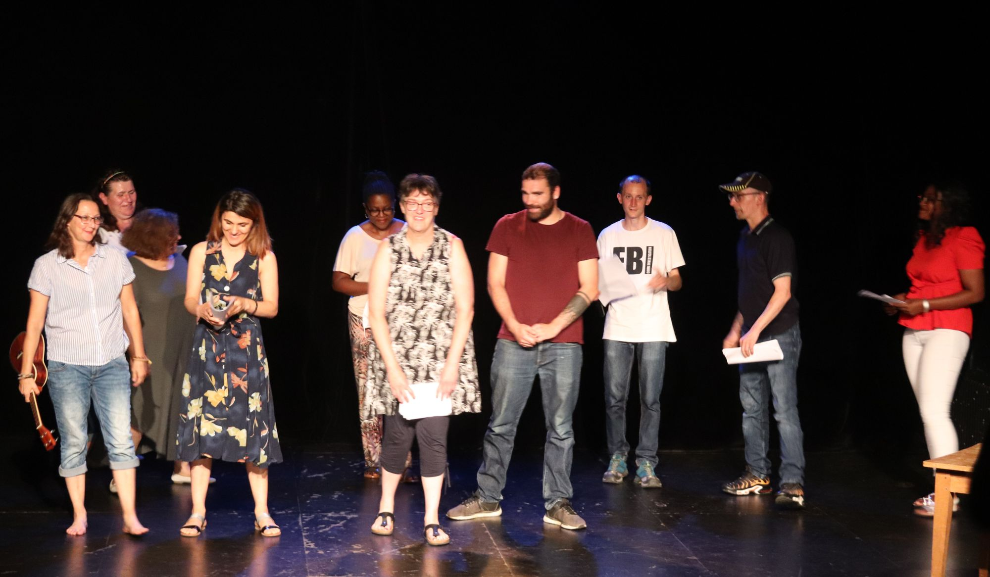 Besançon - Le théâtre, comme une échappatoire